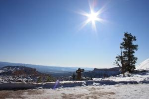 Słońce w górach