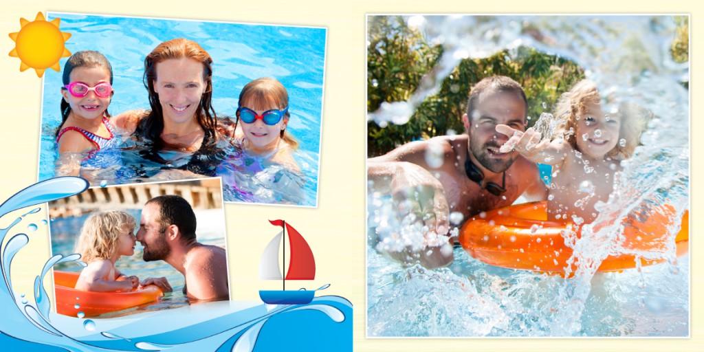 Kolorowe grafiki podkreślą urok zdjęć. Nareszcie zdjęcia z wakacji będą miały właściwą oprawę.
