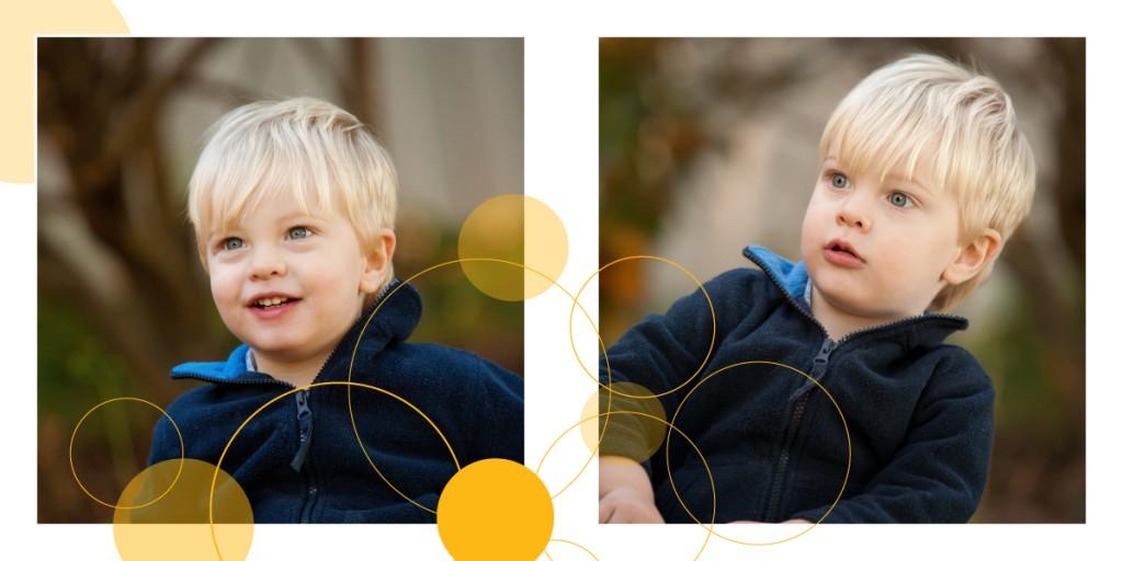 Rób zdjęcia z perspektywy dziecka.