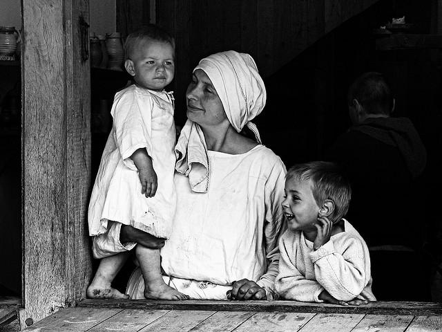mama z dziecimi