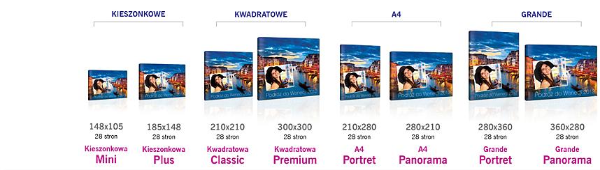 format fotoksiążki