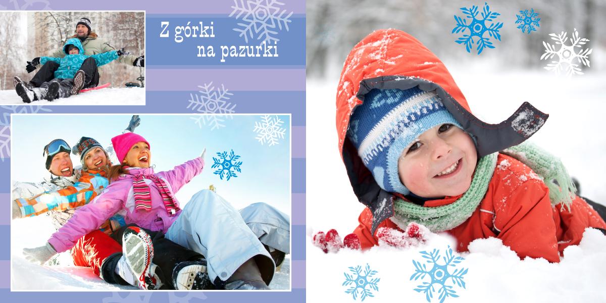 fotoksiążka zima