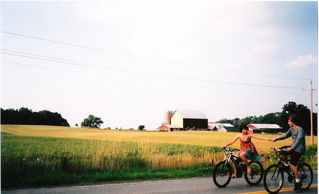 zakochani na rowrach