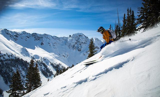 zdjęcia na nartach